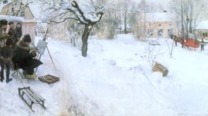 Carl Larsson - The Outdoor Artist