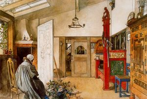 Carl Larsson - The Studio 1