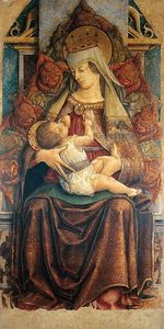 Carlo Crivelli - Madonna lactating the Child