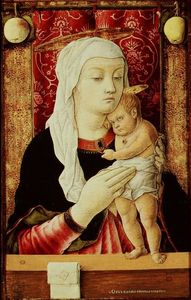 Carlo Crivelli - Madonna with the Child 4