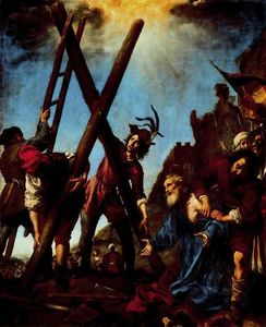 Carlo Dolci - St. Andrew kneeling before his cross