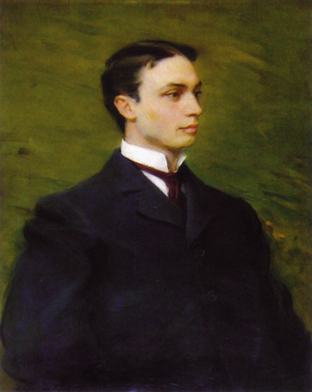 Henry Howard Houston, Jr. by Cecilia Beaux (1855-1942, United States) | Painting Copy | WahooArt.com