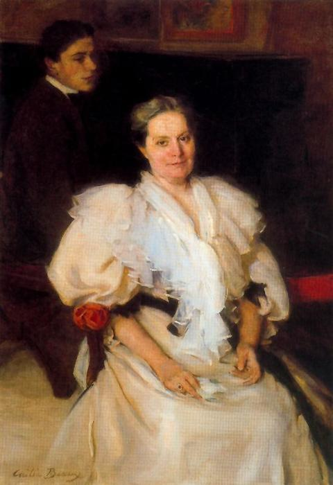 Mother and Son by Cecilia Beaux (1855-1942, United States) | WahooArt.com