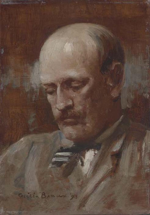 Portrait of Robert C. Minor by Cecilia Beaux (1855-1942, United States) | WahooArt.com