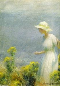 Charles Courtney Curran - A Summer Walk
