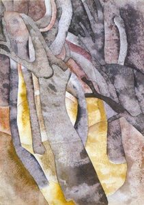 Charles Demuth - Charles Demuth - Tree Forms 1916 - Approximate ...