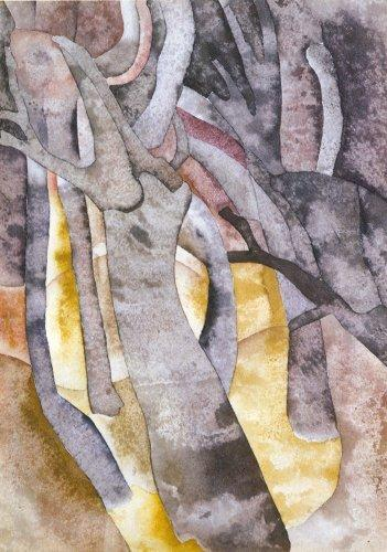 Charles Demuth - Tree Forms 1916 - Approximate ... by Charles Demuth (1883-1935, United States) | WahooArt.com