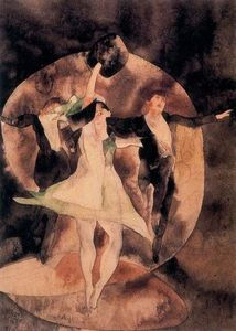 Charles Demuth - In Vaudeville. The green dancer