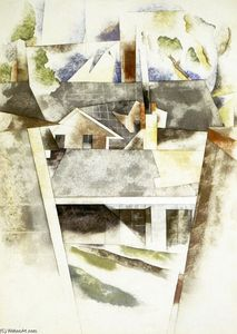 Charles Demuth - Sailboats and Roofs