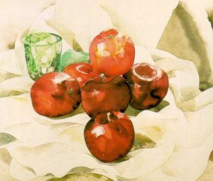 Charles Demuth - Still Life with Apples and a Green Glass