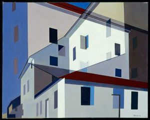 Charles Rettew Sheeler Junior - On a Shaker Theme