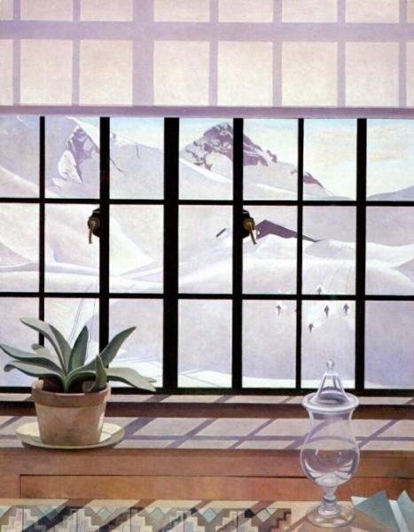 Winter Window By Charles Rettew Sheeler Junior (1883 1965, United States) |  Museum Quality Reproductions ...