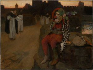 Edwin Austin Abbey - The Bridge