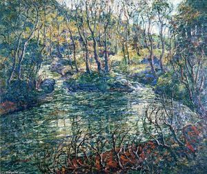 Ernest Lawson - Connecticut Trout Stream
