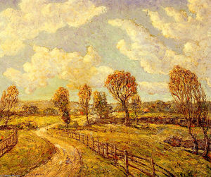 Ernest Lawson - New England Lanscape