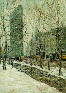 Ernest Lawson - The Flatiron building 1