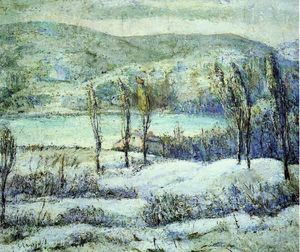 Ernest Lawson - Winter Scene