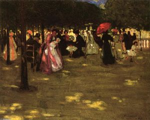 Frederick Carl Frieseke - Luxembourg Gardens