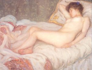 Frederick Carl Frieseke - Sleep