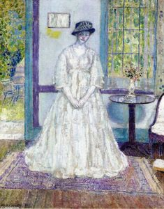 Frederick Carl Frieseke - Summer Morning