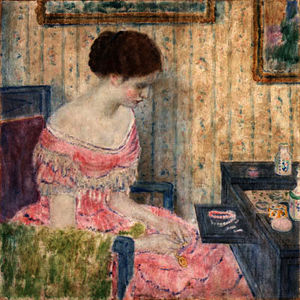 Frederick Carl Frieseke - Woman with Jewels
