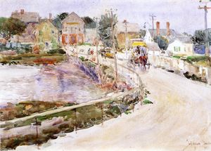 Frederick Childe Hassam - At Gloucester