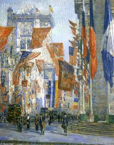 Frederick Childe Hassam - Avenue of the Allies 1
