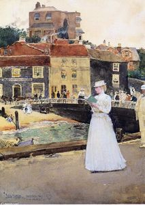 Frederick Childe Hassam - Bleakk House, Broadstairs