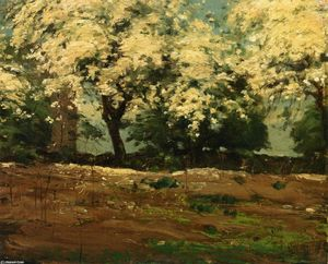 Frederick Childe Hassam - Blossoms