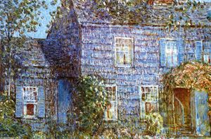 Frederick Childe Hassam - Hutchison House, Easthampton