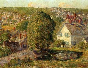 Frederick Childe Hassam - Outskirts of East Gloucester