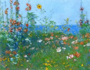 Frederick Childe Hassam - Poppies, Isles of Shoals 2