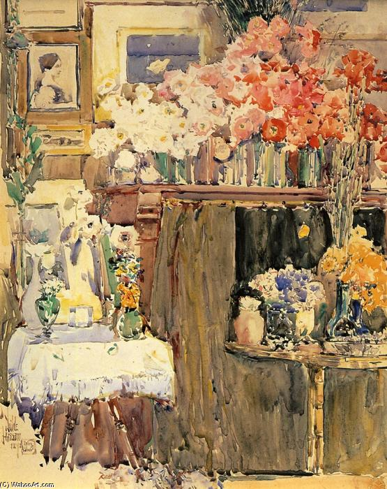 The Altar and the Shrine by Frederick Childe Hassam (1859-1935, United States) | Art Reproduction | WahooArt.com