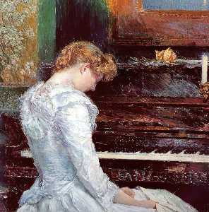 Frederick Childe Hassam - The Sonata