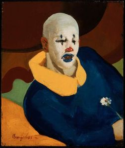 George Benjamin Luks - A clown