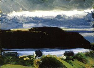 George Wesley Bellows - Breaking Sky, Monhegan