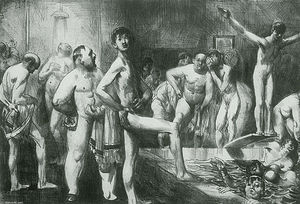 George Wesley Bellows - Business-Men-s Bath