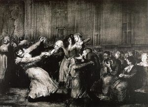George Wesley Bellows - Dance in a Madhouse