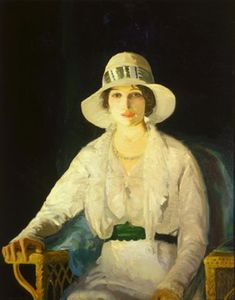 George Wesley Bellows - Florence Davey