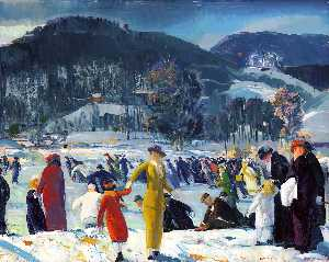 George Wesley Bellows - Love of Winter