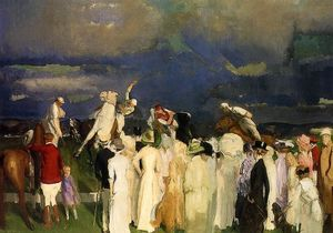 George Wesley Bellows - Polo Crowd