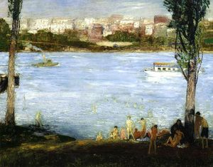 George Wesley Bellows - Summer City
