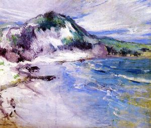 John Henry Twachtman - Beach at Squam