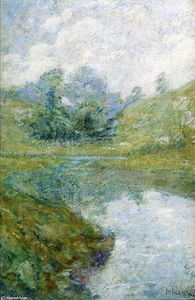 John Henry Twachtman - Landscape 3 - (Buy fine Art Reproductions)