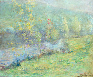 John Henry Twachtman - Misty May Morn