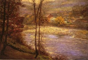 John Ottis Adams - Morning on the Whitewater