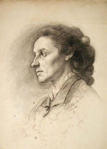 John Ottis Adams - Study Head (Woman)