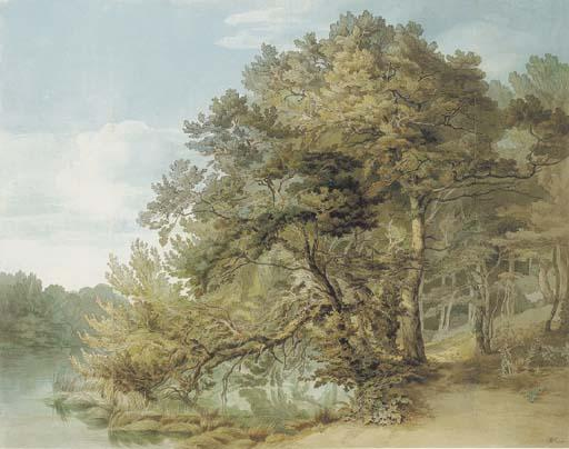Order Reproductions | Peamore, Devon by John White Abbott (1763-1851, United Kingdom) | WahooArt.com