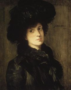 Julian Alden Weir - Girl in Black