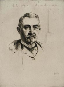 Julian Alden Weir - Portrait of Colonel H.C. Weir (Agricola) 1